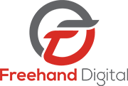 Freehand Digital Logo